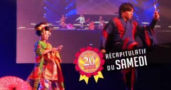 Récapitulatif Japan Expo 20e Impact – Samedi 6 juillet